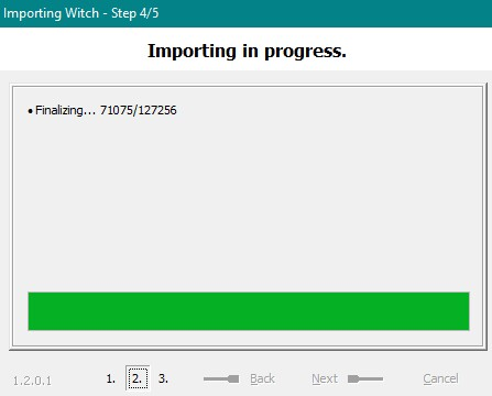 Importing Eudora Mail (Sorry, another thread) Witch